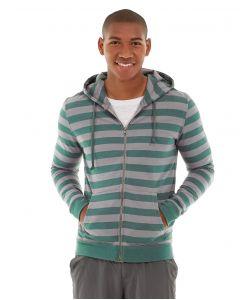 Ajax Full-Zip Sweatshirt -L-Blue