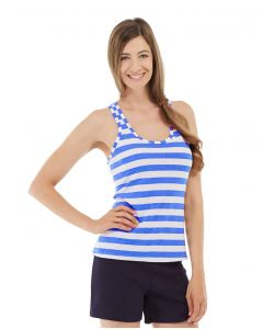 Nona Fitness Tank-XL-Blue