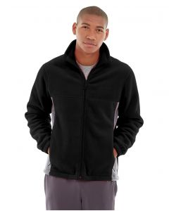 Orion Two-Tone Fitted Jacket-S-Black